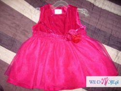 Sprzedam sukienkę H&M 12-18m, rozm.86