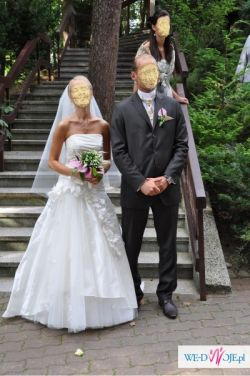 Sprzedam sukienkę ślubną Farage Malaga
