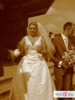 Sprzedam sukienkę ślubną lisa ferrera