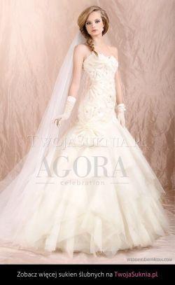 Sprzedam SUKNIA ŚLUBNA 36/38 Agora , perła- dodatki GRATIS!