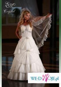 0570d19404 Sprzedam suknia ślubna Emmi Mariage Crystal Svarowski Lodz - Suknie ...