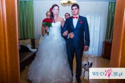 Sprzedam suknia ślubna litera A