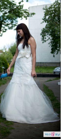 Sprzedam suknia ślubna w rozmiarze 38
