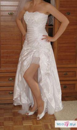 Sprzedam suknię  2w1 krótka i długa księżniczka