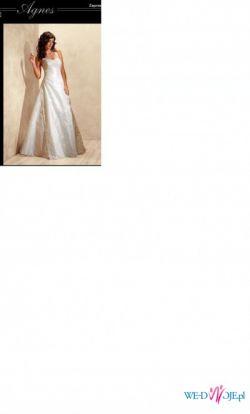 Sprzedam suknię Agnes 1912 (kolekcja2009) rozm.40-42