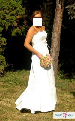 sprzedam suknię - atrakcyjnie