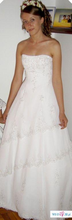 Sprzedam suknie - Chaniel - biała