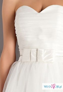 Sprzedam suknie Elisabeth Passion E-2503T (śmietankowa biel)!!