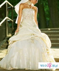 SPRZEDAM suknię FARAGE 3000 z oryginalnym bolerkiem