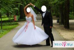 Sprzedam suknie GIOVANI-ANGEL kolor bialy 34/36/38 - model 2010/2011/2012