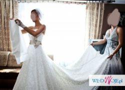 Sprzedam suknie JUSTINA ALEXANDRA 8452 limitowana wersja koronka roz.36