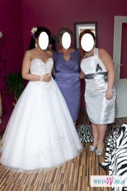 Sprzedam suknię królewską demetrios 984. rozm.42