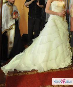 Sprzedam suknię La sposa Laguna rozm. 36-38