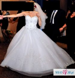 Sprzedam suknię Lisa Ferrera 984 z 2012 roku - najwyższy model Warszawa