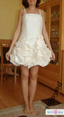sprzedam suknię na ślub cywilny czy inną okazję
