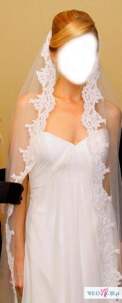 Sprzedam suknię Primavera San Patrick +welon gratis - stan sukni idealny
