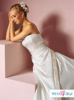 Sprzedam suknie Sincerity 3222, roz. 38/40 (am.10)