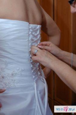 sprzedam suknie ślubą