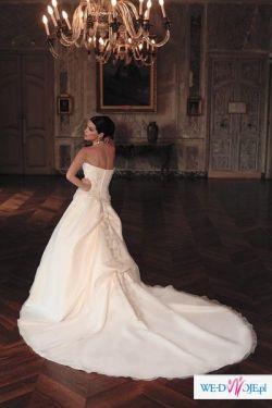 """Sprzedam suknię ślubą """"Complicité PARIS""""- Lise Saint Germain (Karlin)."""