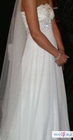 sprzedam suknie ślubna 36/38 Julia Rosa 2010