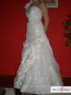 Sprzedam Suknię Ślubną - 600 zł- bolerko GRATIS
