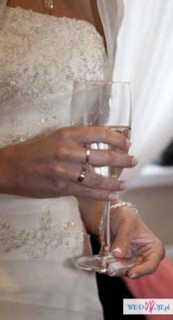 Sprzedam Suknię Ślubną Agnes 10215, Zakupioną W Salonie Sukien Ślubnych