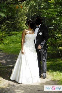 sprzedam suknię ślubną Agnes 10232 rozm. 38-40 Wrocław, Warszawa