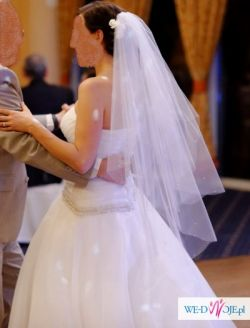 Sprzedam suknię ślubną Agnes Platinium 10703