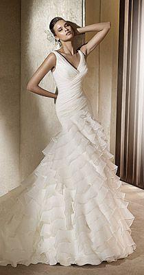 Sprzedam suknię ślubną ALFA z kolekcji Pronovias 2011