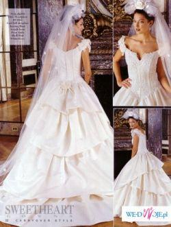 Sprzedam suknię ślubną amerykańskiej firmy SweetheartGowns