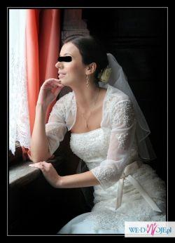 sprzedam suknię ślubną annais aveno, bolerko i welon GRATIS!