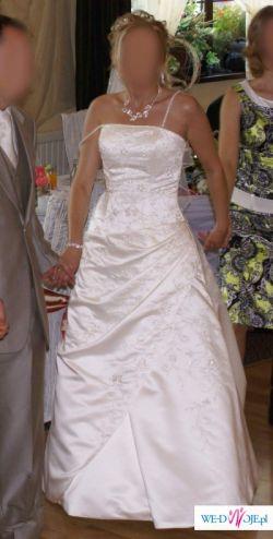 Sprzedam suknię ślubną ANNAIS ESTA, rozmiar 36/38, wzrost 167-174
