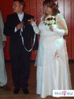 Sprzedam Suknie ślubną bardzo duży rozmiar
