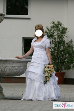 Sprzedam suknię ślubną- białą.