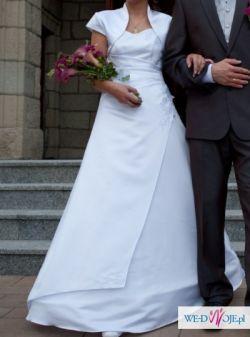 Sprzedam suknię ślubną białą 500zl
