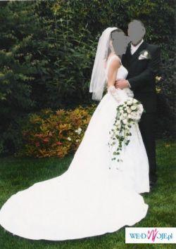 Sprzedam suknie ślubną, biała