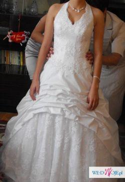 Sprzedam suknię ślubną biała rozmiar 36-38