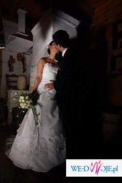 """Sprzedam suknie ślubną bo: """"...samotnie w szafie lśni..."""" ;-)"""