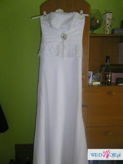 sprzedam suknie ślubną+ bolerko
