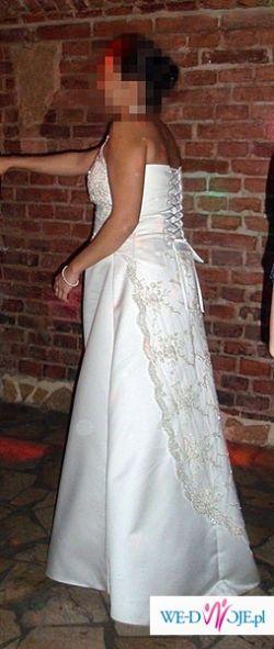 Sprzedam suknię ślubną ciążową.