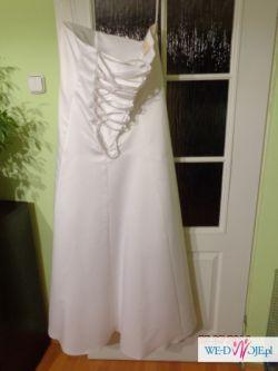 Sprzedam suknię ślubną ciążową bądż po prostu dużą