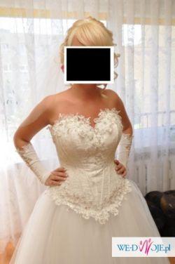 sprzedam suknię ślubną Cindirella Farage