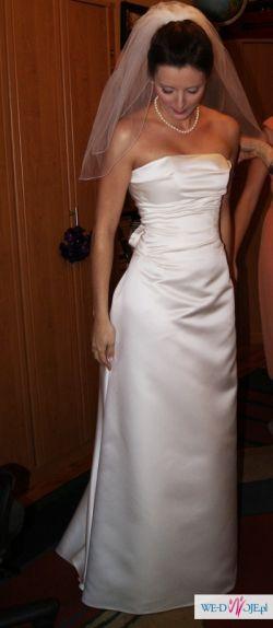 Sprzedam suknię ślubną Cymbeline, model Espiegle, rozm.36, kolor ivory