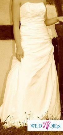 sprzedam suknię ślubną Demetrios 3049 rozmiar 38