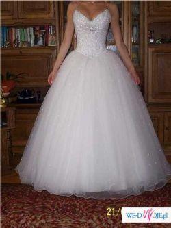 Sprzedam suknię ślubną Demetrios 896 r.36