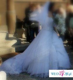 Sprzedam suknie ślubną Demetrios 933 TANIO
