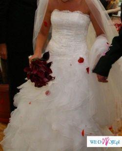 """Sprzedam suknię ślubną """"Diamond"""" z najnowszej kolekcji 2009 Maggio Ramatti."""