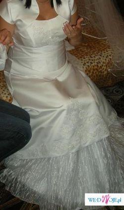 sprzedam suknię ślubną dla ciężarnej :)