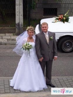 Sprzedam suknię ślubną dla dużej księżniczki :)