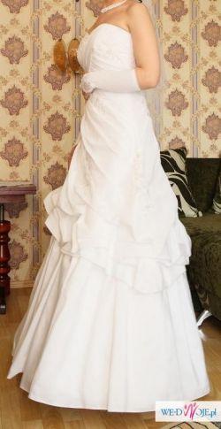 sprzedam suknie ślubną+dodatki